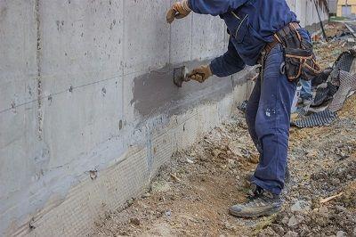 בניית חגורת בטון