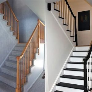 שיפוץ חדר מדרגות במשרד