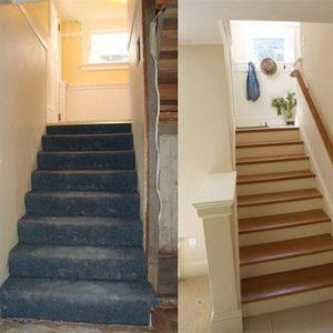פירוק והחלפת מדרגות
