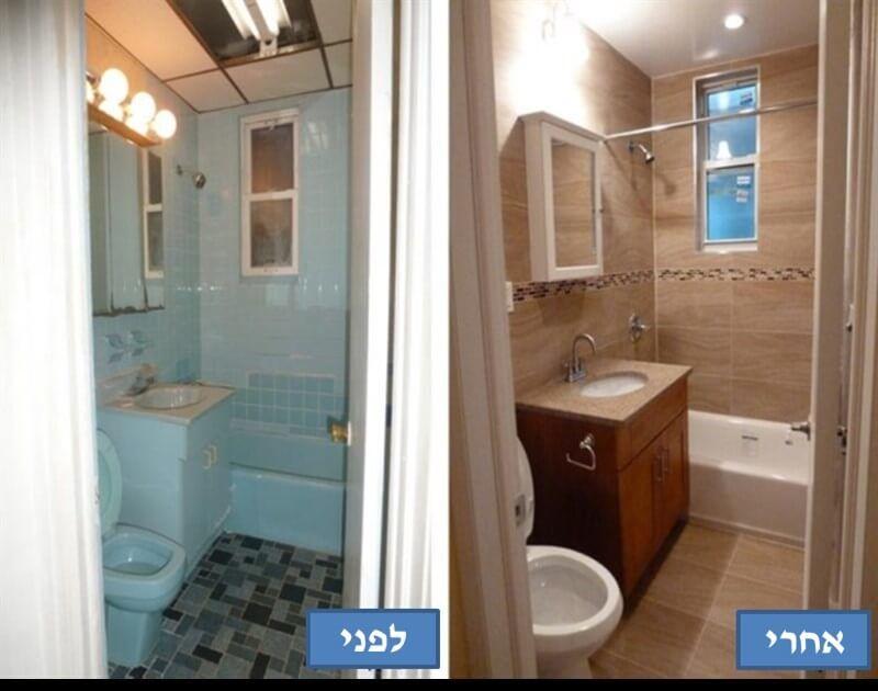 ריצוף חדר אמבטיה באשדוד