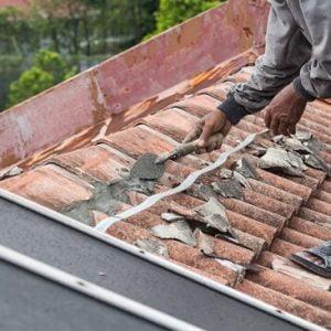 תיקון גג רעפים של בית פרטי