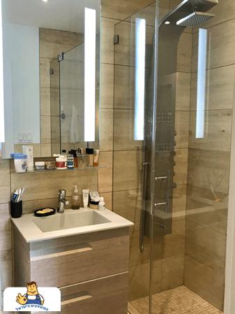 החלפת ריצוף בחדר אמבטיה