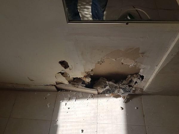 שבירת קירות בבית