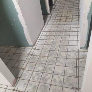 הכנת משטח לבטון