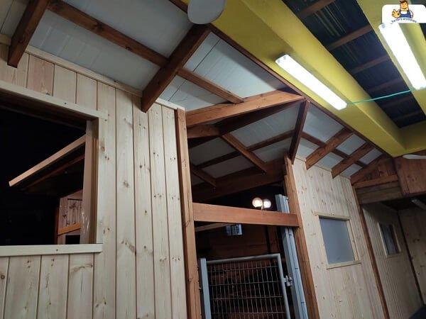 הרחבת בית כנסת מבניה בעץ