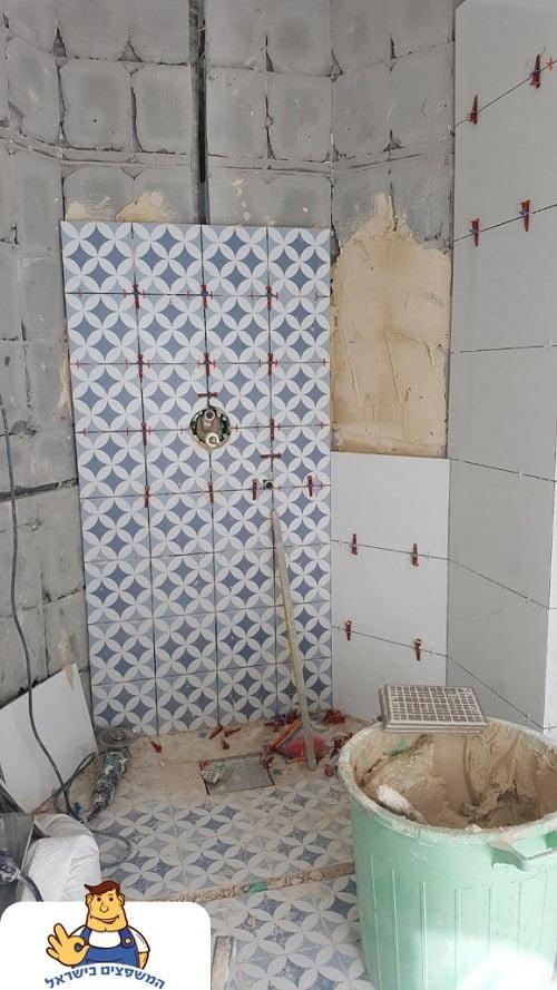 ריצוף חדר אמבטיה