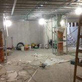 שיפוץ תקרה במרתף